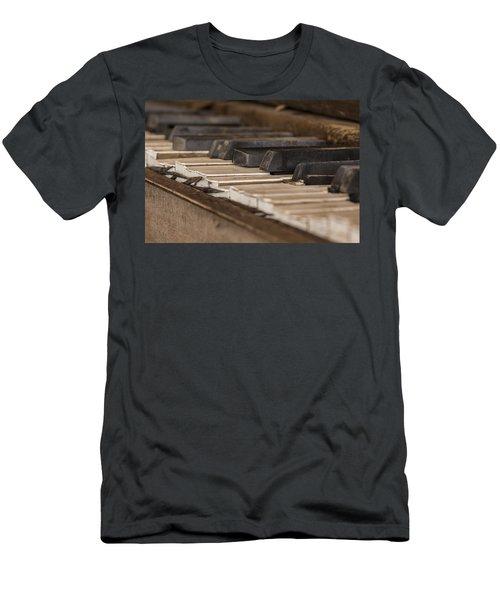 Silent Keys Men's T-Shirt (Athletic Fit)