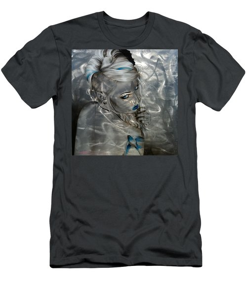 Silver Flight Men's T-Shirt (Athletic Fit)