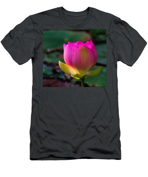 Single Blossum Men's T-Shirt (Athletic Fit)