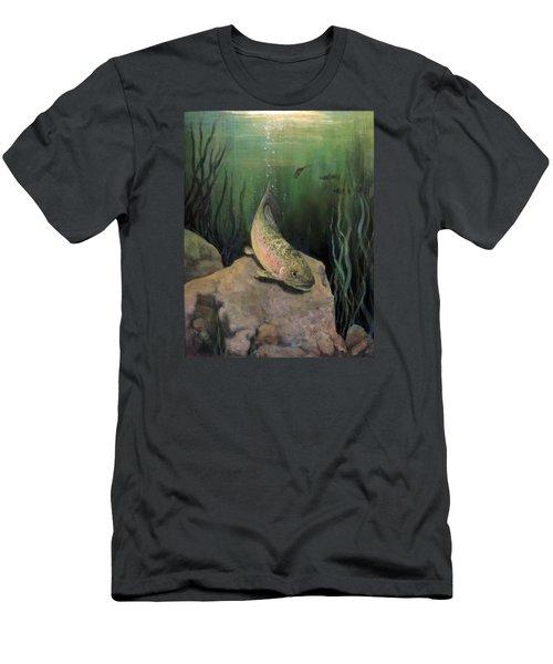 Single Trout Men's T-Shirt (Athletic Fit)