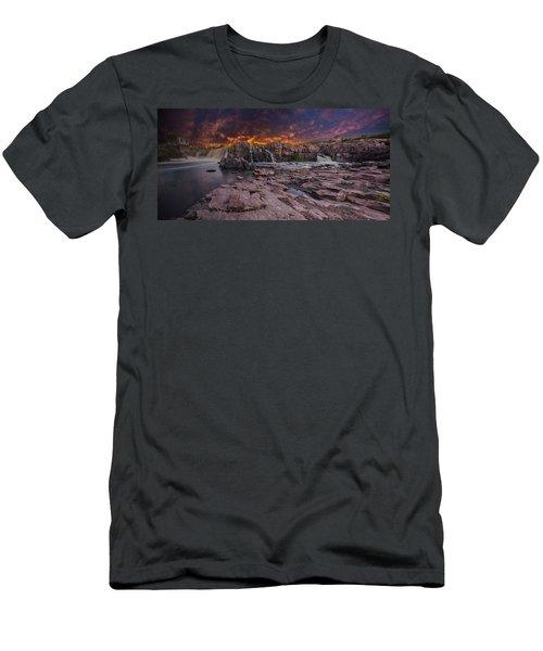 Sioux Falls Men's T-Shirt (Athletic Fit)
