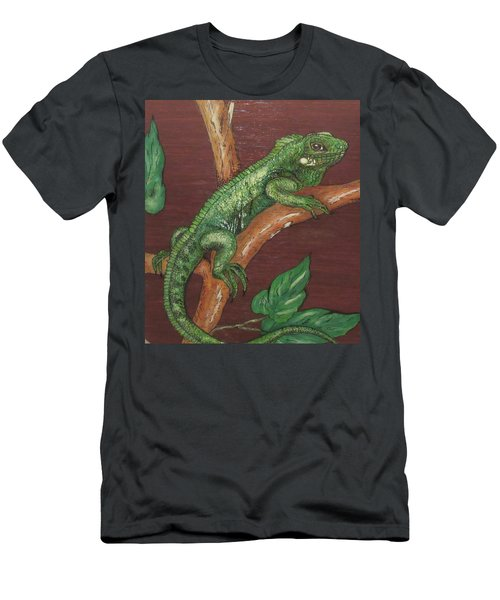 Sir Iguana Men's T-Shirt (Athletic Fit)