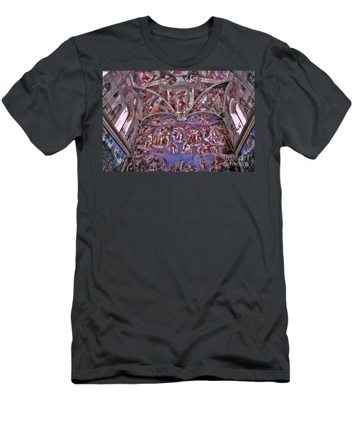 Men's T-Shirt (Slim Fit) featuring the photograph Sistine Chapel by Allen Beatty