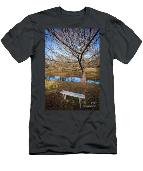 Men's T-Shirt (Athletic Fit) featuring the photograph Sit And Dream by John Wadleigh