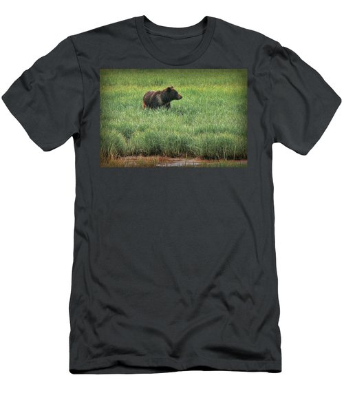 Sitka Grizzly Men's T-Shirt (Athletic Fit)