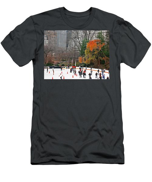 Skating Away Men's T-Shirt (Athletic Fit)