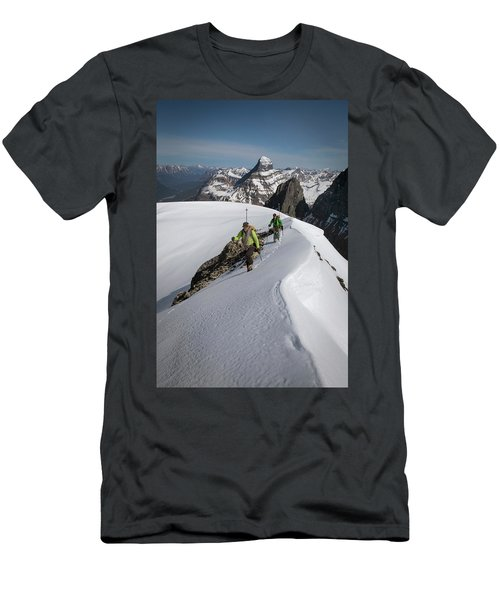 Ski Mountaineering, Jasper Men's T-Shirt (Athletic Fit)