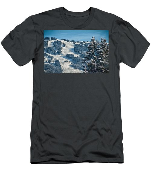 Ski Run Men's T-Shirt (Athletic Fit)
