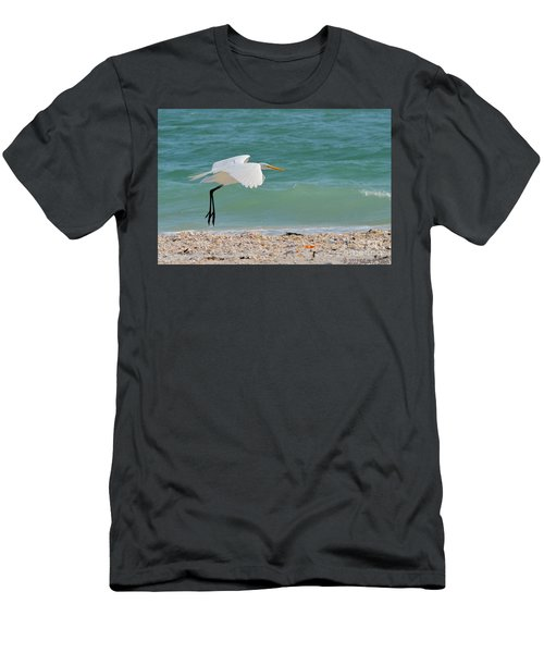 Skimming The Surf Men's T-Shirt (Athletic Fit)