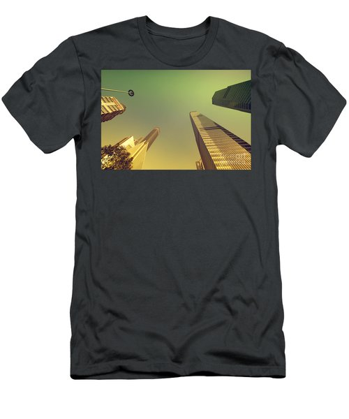 Men's T-Shirt (Athletic Fit) featuring the photograph Skyscraper by Yew Kwang