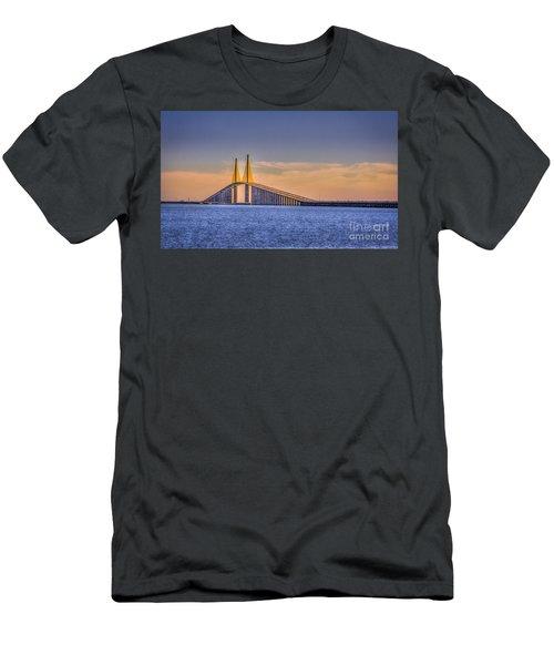 Skyway Bridge Men's T-Shirt (Athletic Fit)