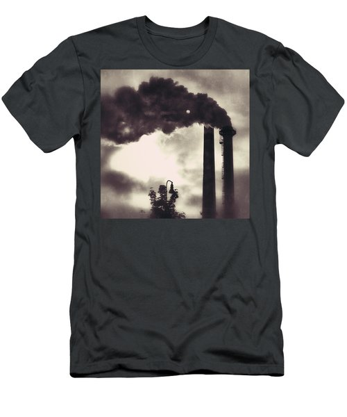 Smoke Stack Men's T-Shirt (Athletic Fit)