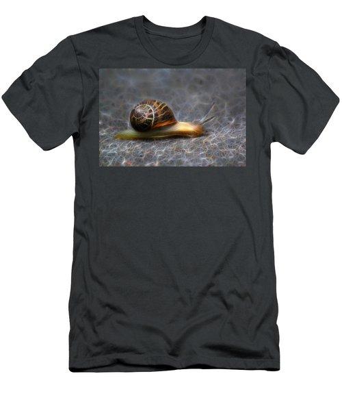 Snail Dreams Men's T-Shirt (Athletic Fit)