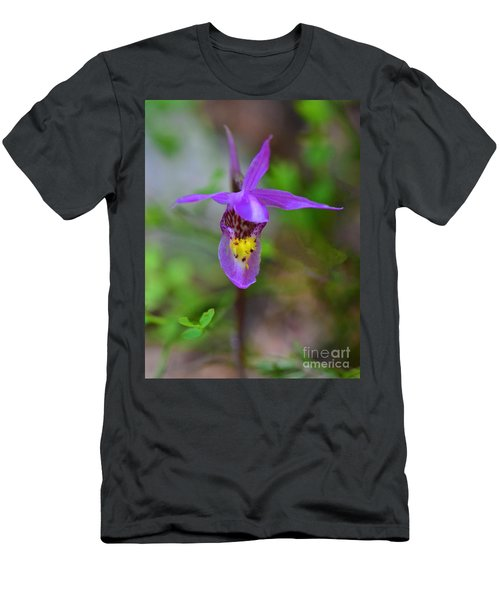 Men's T-Shirt (Athletic Fit) featuring the digital art Snapdragon by Mae Wertz