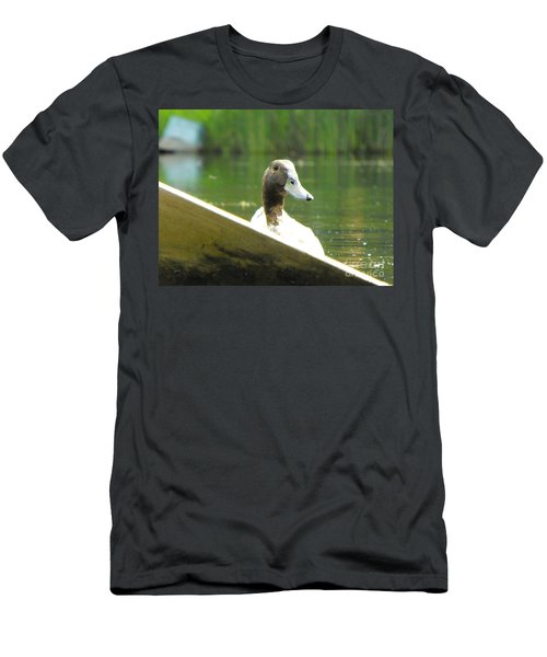 Snooping Duck Men's T-Shirt (Athletic Fit)