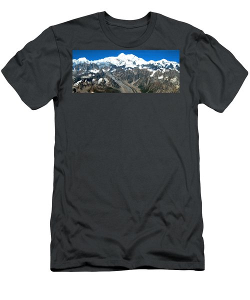 Snow Capped Canyon Men's T-Shirt (Athletic Fit)