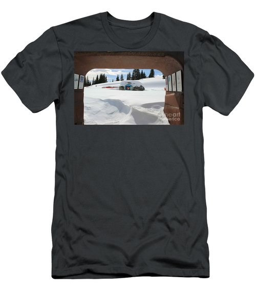 Snow Daze Men's T-Shirt (Slim Fit) by Fiona Kennard