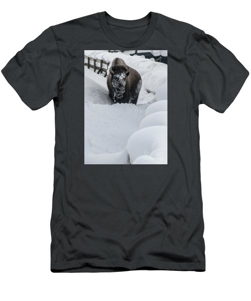 Snow Face Men's T-Shirt (Athletic Fit)