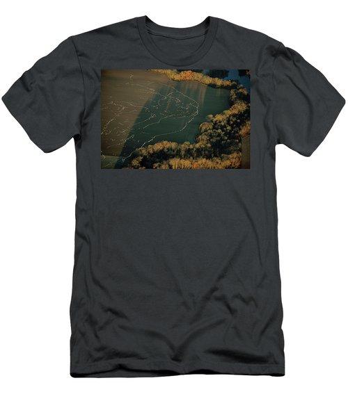 Snow Geese Leaving Blackwater Refuge Men's T-Shirt (Athletic Fit)