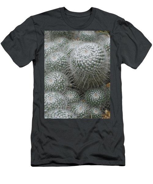 Snowy Cactus  Men's T-Shirt (Athletic Fit)