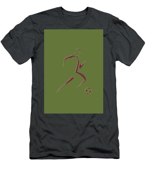 Soccer Player10 Men's T-Shirt (Athletic Fit)
