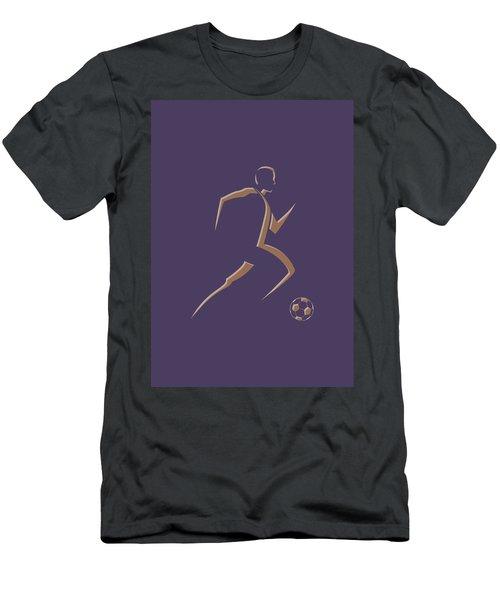 Soccer Player3 Men's T-Shirt (Athletic Fit)