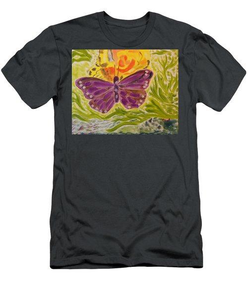 Soft Flutters Men's T-Shirt (Athletic Fit)