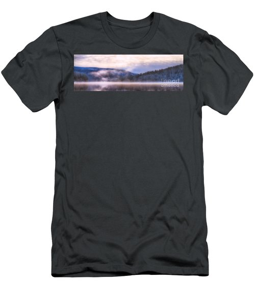 Soft Light Of Winter Men's T-Shirt (Athletic Fit)