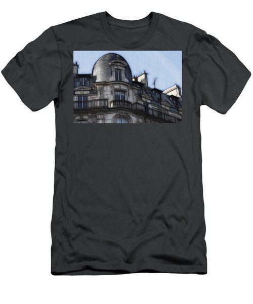 Softer Side Of Paris Architecture Men's T-Shirt (Athletic Fit)