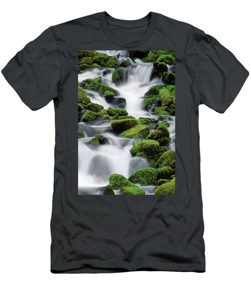 Sol Duc Stream Men's T-Shirt (Athletic Fit)