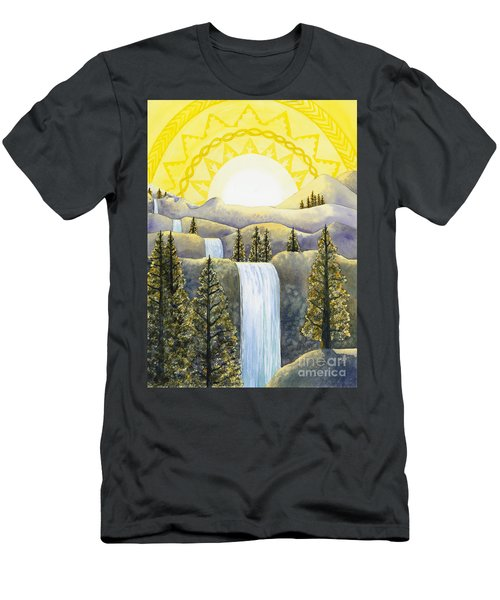 Solar Plexus Chakra Men's T-Shirt (Athletic Fit)