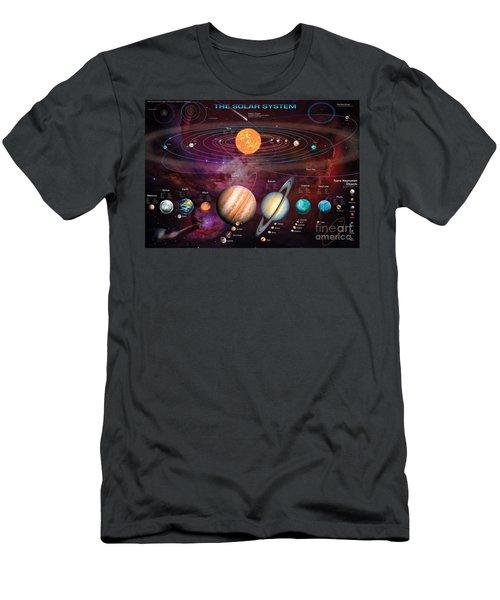 Solar System 1 Men's T-Shirt (Athletic Fit)
