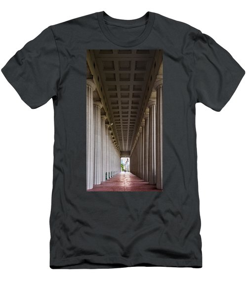 Soldier Field Colonnade Men's T-Shirt (Athletic Fit)