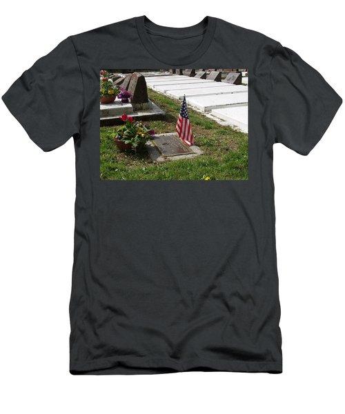 Soldiers Final Resting Place Men's T-Shirt (Athletic Fit)