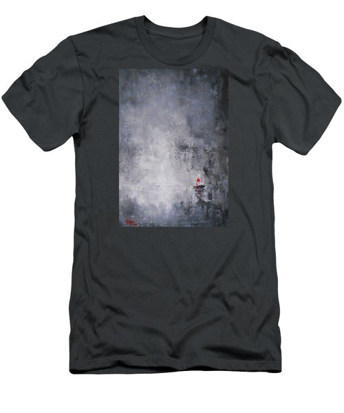 Solitude 2 Men's T-Shirt (Slim Fit) by Jane  See