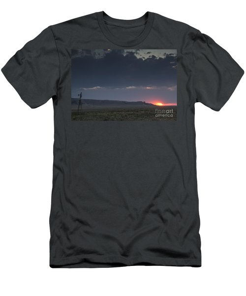 A Sunset Somewhere In Wyoming Men's T-Shirt (Athletic Fit)