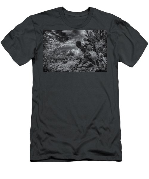 Men's T-Shirt (Slim Fit) featuring the photograph Sonoran Desert 15 by Mark Myhaver