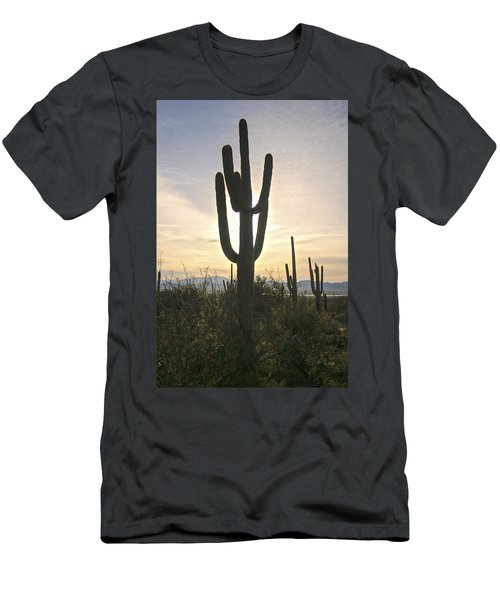 Sonoran Desert View Men's T-Shirt (Athletic Fit)