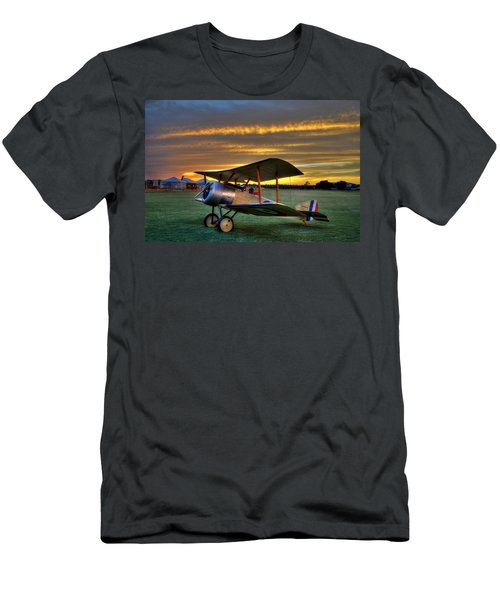 Sopwith Sunset Men's T-Shirt (Athletic Fit)