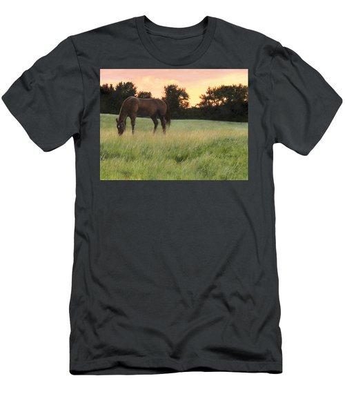 Men's T-Shirt (Athletic Fit) featuring the painting Sorrel Beauty by Tammy Taylor