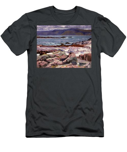 Sound Of Iona  The Burg From The North Shore Men's T-Shirt (Athletic Fit)