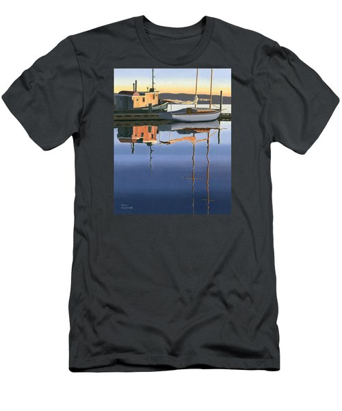 South Harbour Reflections Men's T-Shirt (Slim Fit) by Gary Giacomelli