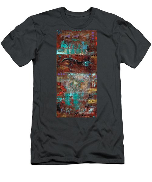 Southwest Horses Men's T-Shirt (Athletic Fit)