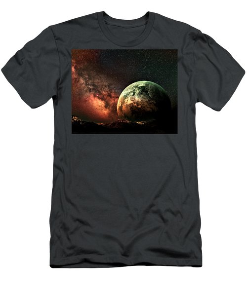 Spaced Out Men's T-Shirt (Athletic Fit)