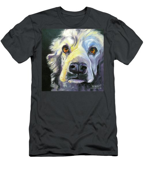 Spaniel In Thought Men's T-Shirt (Athletic Fit)