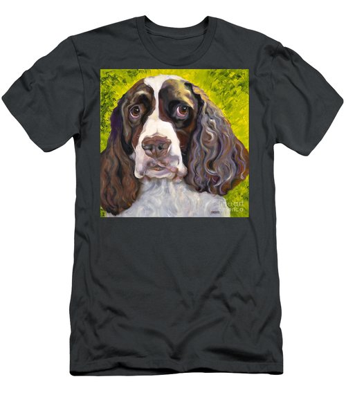 Spaniel The Eyes Have It Men's T-Shirt (Athletic Fit)