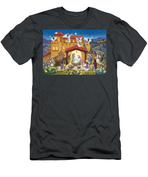 Spanish Nativity Men's T-Shirt (Athletic Fit)