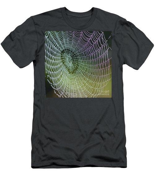 Spider Web Men's T-Shirt (Slim Fit) by Heiko Koehrer-Wagner