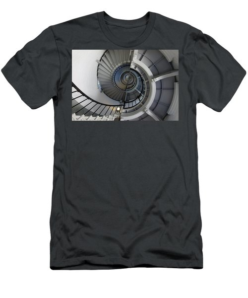 Men's T-Shirt (Slim Fit) featuring the photograph Spiral by Laurie Perry