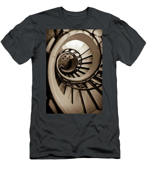 Spiral Staircase Men's T-Shirt (Athletic Fit)